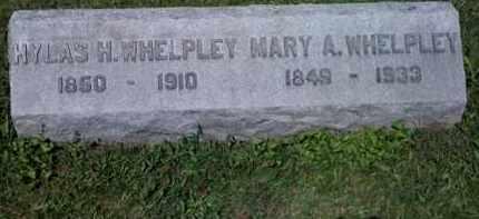 AMRINE WHELPLEY, MARY - Fayette County, Ohio | MARY AMRINE WHELPLEY - Ohio Gravestone Photos