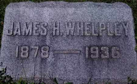 WHELPLEY, JAMES HENRY - Fayette County, Ohio | JAMES HENRY WHELPLEY - Ohio Gravestone Photos
