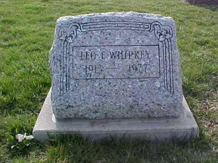 WHIPKEY, LEO E. - Fayette County, Ohio | LEO E. WHIPKEY - Ohio Gravestone Photos