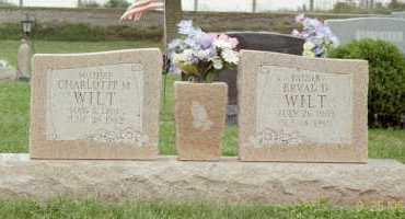 WILT, CHARLOTTE - Fayette County, Ohio | CHARLOTTE WILT - Ohio Gravestone Photos