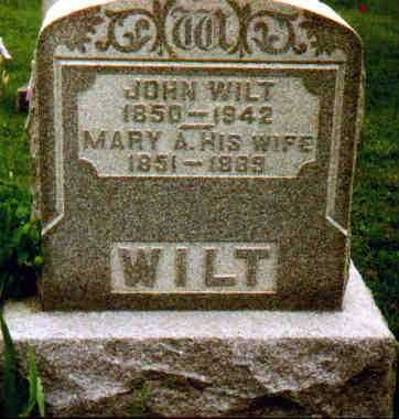 WILT, MARY A - Fayette County, Ohio | MARY A WILT - Ohio Gravestone Photos