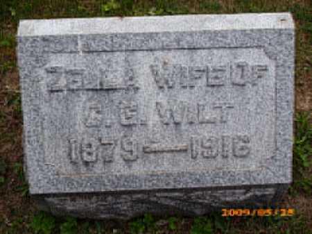 STOUGHTON WILT, ZELLA - Fayette County, Ohio | ZELLA STOUGHTON WILT - Ohio Gravestone Photos