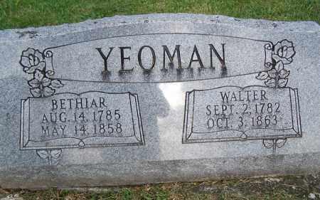 YEOMAN, BETHIAR - Fayette County, Ohio | BETHIAR YEOMAN - Ohio Gravestone Photos