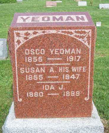 YEOMAN, OSCO - Fayette County, Ohio | OSCO YEOMAN - Ohio Gravestone Photos