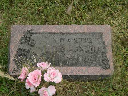 HERRON ABBOTT, HELEN - Franklin County, Ohio   HELEN HERRON ABBOTT - Ohio Gravestone Photos