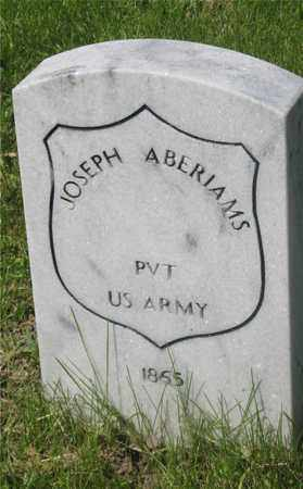 ABERIAMS, JOSEPH - Franklin County, Ohio   JOSEPH ABERIAMS - Ohio Gravestone Photos
