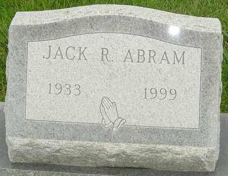 ABRAM, JACK R - Franklin County, Ohio   JACK R ABRAM - Ohio Gravestone Photos