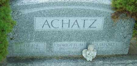ACHATZ, JOHN EUGENE - Franklin County, Ohio | JOHN EUGENE ACHATZ - Ohio Gravestone Photos