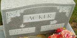 ACKER, VIRGINIA - Franklin County, Ohio | VIRGINIA ACKER - Ohio Gravestone Photos