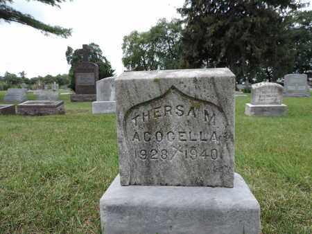 ACOCELLA, THERSA M. - Franklin County, Ohio | THERSA M. ACOCELLA - Ohio Gravestone Photos
