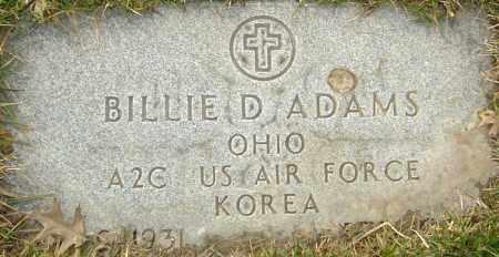 ADAMS, BILLIE - Franklin County, Ohio   BILLIE ADAMS - Ohio Gravestone Photos