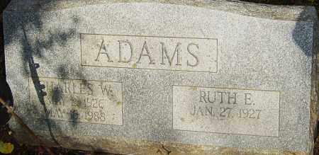 ADAMS, CHARLES - Franklin County, Ohio | CHARLES ADAMS - Ohio Gravestone Photos