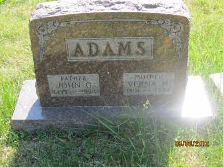 ADAMS, JOHN Q - Franklin County, Ohio | JOHN Q ADAMS - Ohio Gravestone Photos