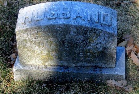 ADAMS, JOHN C. - Franklin County, Ohio | JOHN C. ADAMS - Ohio Gravestone Photos