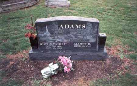 ADAMS, MARTY B. - Franklin County, Ohio | MARTY B. ADAMS - Ohio Gravestone Photos