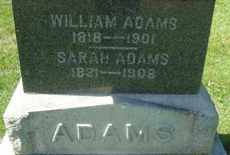 ADAMS, SARAH - Franklin County, Ohio | SARAH ADAMS - Ohio Gravestone Photos
