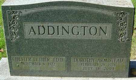 ARMISTEAD ADDINGTON, DOROTHY - Franklin County, Ohio | DOROTHY ARMISTEAD ADDINGTON - Ohio Gravestone Photos