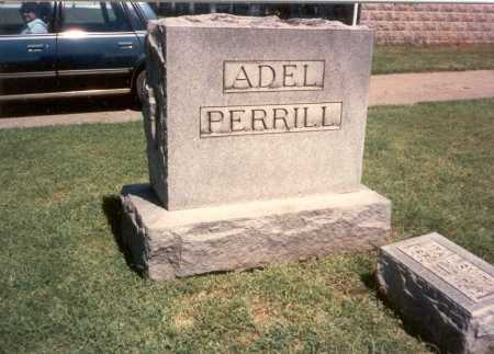 ADEL - PERRILL, GRAVESTONE - Franklin County, Ohio | GRAVESTONE ADEL - PERRILL - Ohio Gravestone Photos