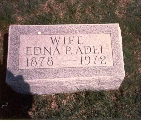 PERRILL ADEL, EDNA - Franklin County, Ohio   EDNA PERRILL ADEL - Ohio Gravestone Photos