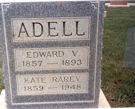 ADELL, EDWARD V. - Franklin County, Ohio | EDWARD V. ADELL - Ohio Gravestone Photos