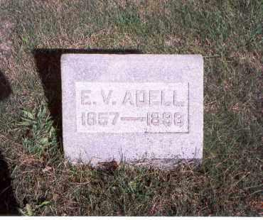 ADELL, E. V. - Franklin County, Ohio | E. V. ADELL - Ohio Gravestone Photos