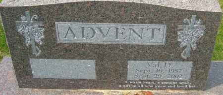ADVENT, VAL D - Franklin County, Ohio | VAL D ADVENT - Ohio Gravestone Photos