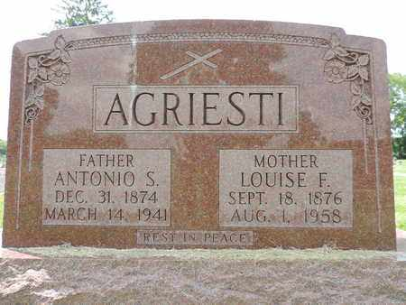 AGRIESTI, LOUISE F. - Franklin County, Ohio | LOUISE F. AGRIESTI - Ohio Gravestone Photos