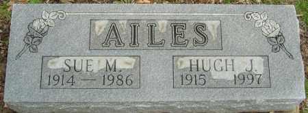 AILES, SUE M - Franklin County, Ohio   SUE M AILES - Ohio Gravestone Photos