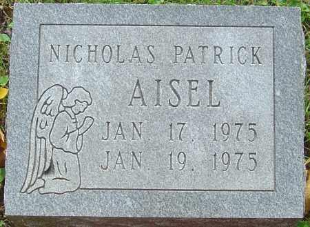 AISEL, NICHOLAS PATRICK - Franklin County, Ohio   NICHOLAS PATRICK AISEL - Ohio Gravestone Photos