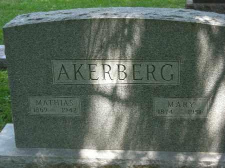 AKERBERG, MARY - Franklin County, Ohio | MARY AKERBERG - Ohio Gravestone Photos