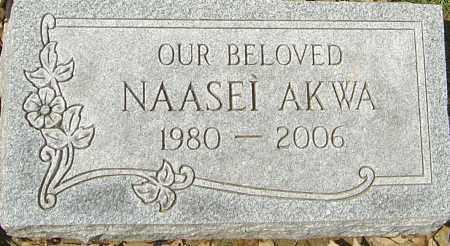 AKWA, NAASEI - Franklin County, Ohio | NAASEI AKWA - Ohio Gravestone Photos