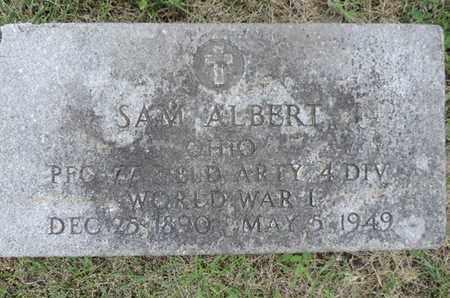 ALBERT, SAM - Franklin County, Ohio | SAM ALBERT - Ohio Gravestone Photos