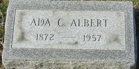 ALBERT, ADA C - Franklin County, Ohio | ADA C ALBERT - Ohio Gravestone Photos