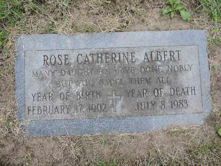 ALBERT, ROSE CATHERINE - Franklin County, Ohio | ROSE CATHERINE ALBERT - Ohio Gravestone Photos
