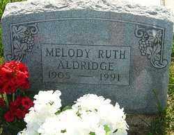 RUTH ALDERIDGE, MELODY - Franklin County, Ohio   MELODY RUTH ALDERIDGE - Ohio Gravestone Photos
