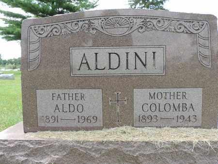 ALDINI, COLOMBA - Franklin County, Ohio   COLOMBA ALDINI - Ohio Gravestone Photos