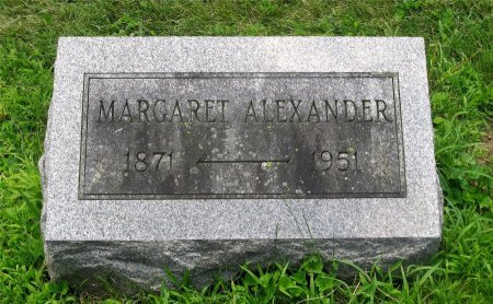 ALEXANDER, MARGARET - Franklin County, Ohio | MARGARET ALEXANDER - Ohio Gravestone Photos