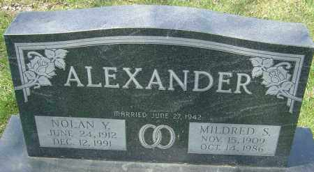STANLEY ALEXANDER, MILDRED - Franklin County, Ohio | MILDRED STANLEY ALEXANDER - Ohio Gravestone Photos