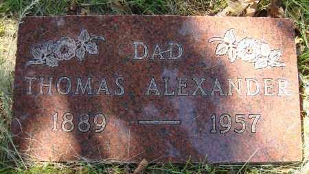 ALEXANDER, THOMAS - Franklin County, Ohio   THOMAS ALEXANDER - Ohio Gravestone Photos