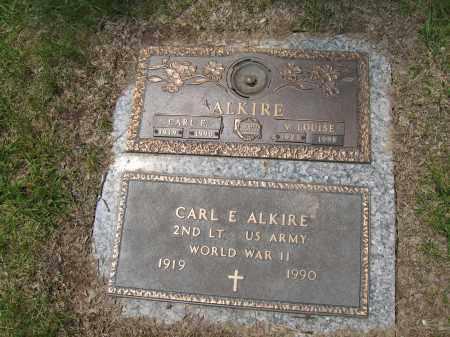 ALKIRE, CARL E. - Franklin County, Ohio   CARL E. ALKIRE - Ohio Gravestone Photos