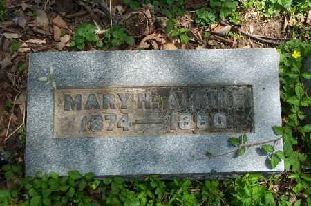 ALKIRE, MARY H. - Franklin County, Ohio   MARY H. ALKIRE - Ohio Gravestone Photos