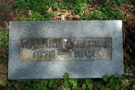 ALKIRE, WILLIAM A. - Franklin County, Ohio | WILLIAM A. ALKIRE - Ohio Gravestone Photos
