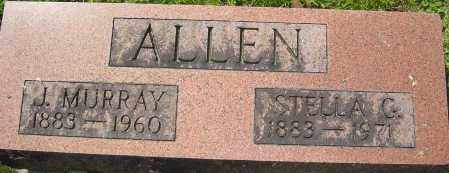 ALLEN, J MURRAY - Franklin County, Ohio | J MURRAY ALLEN - Ohio Gravestone Photos