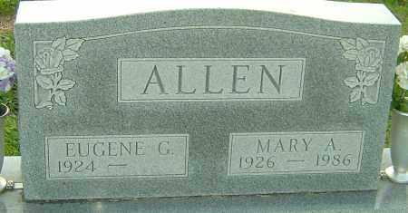 ALLEN, MARY - Franklin County, Ohio   MARY ALLEN - Ohio Gravestone Photos