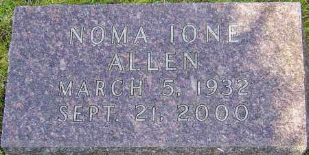 ALLEN, NOMA IONE - Franklin County, Ohio | NOMA IONE ALLEN - Ohio Gravestone Photos