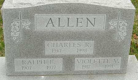 ALLEN, CHARLES - Franklin County, Ohio | CHARLES ALLEN - Ohio Gravestone Photos