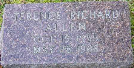 ALLEN, TERENCE RICHARD - Franklin County, Ohio   TERENCE RICHARD ALLEN - Ohio Gravestone Photos