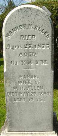 ALLEN, SARAH - Franklin County, Ohio | SARAH ALLEN - Ohio Gravestone Photos