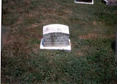 ALLENSWORTH, JR, HARRY R. - Franklin County, Ohio   HARRY R. ALLENSWORTH, JR - Ohio Gravestone Photos