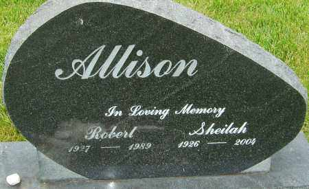 ALLISON, SHEILAH - Franklin County, Ohio | SHEILAH ALLISON - Ohio Gravestone Photos